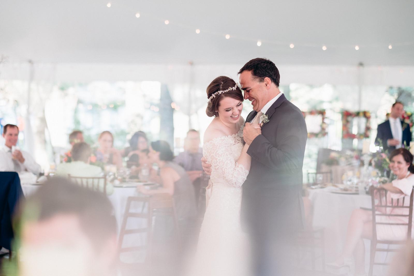 Wedding Reception at Oak Hill