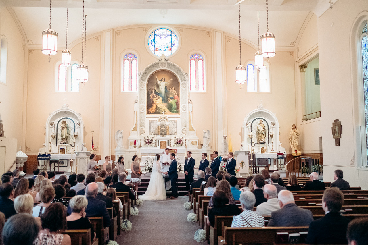 St. Mary's Wedding in Galena