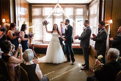University Club Indoor Wedding
