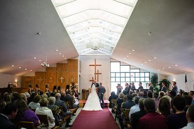 Riverside Community Church Wedding Ceremony