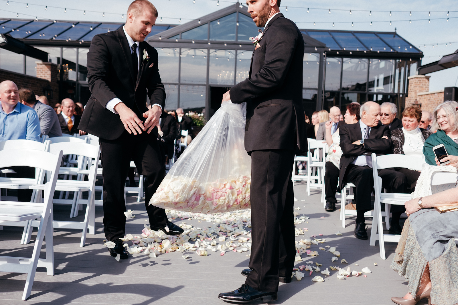 A Rooftop Ceremony
