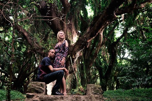 Hawaiian Jungle Portraits