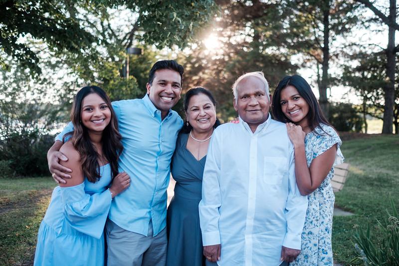 Krishnaiah Family