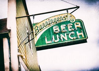 Barringer's Beer Lunch