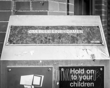 CTA Blue Line - Damen