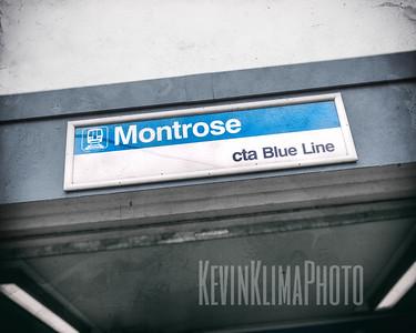 Montrose CTA Blue Line