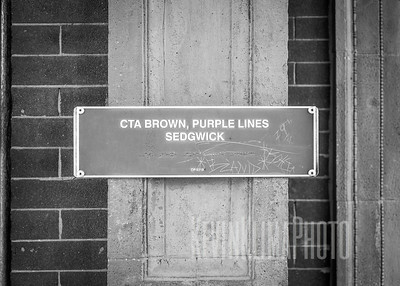 Sedgewick CTA Brown, Purple Lines