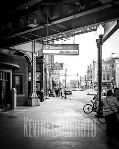 Damen CTA Blue Line Station