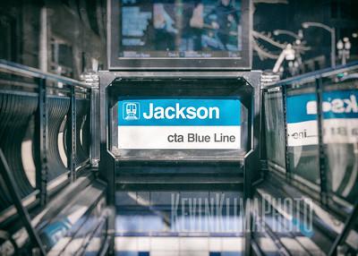 Jackson CTA Blue Line