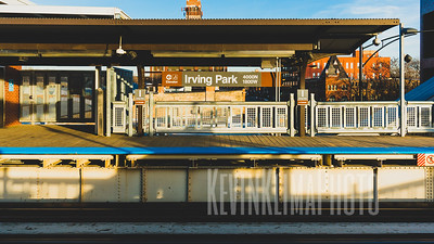 Irving Park CTA Brown Line Station