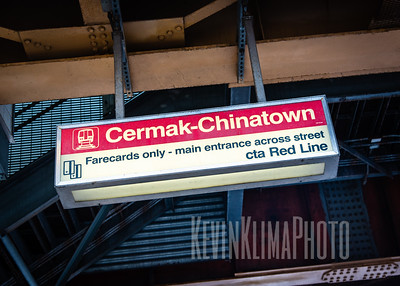 Cermak-Chinatown CTA Red Line Station
