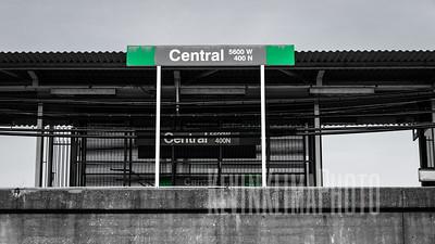 Central Green Line CTA Station