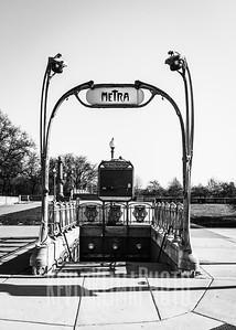 Van Buren Street Station - Metra