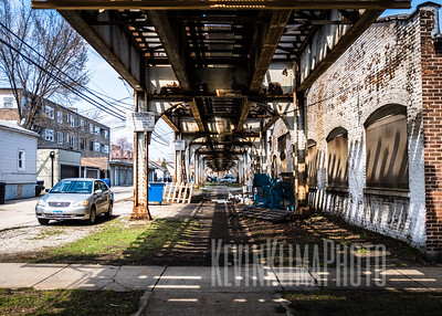 Ravenswood Brown Line Tracks