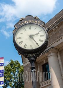 Lombard Village Clock