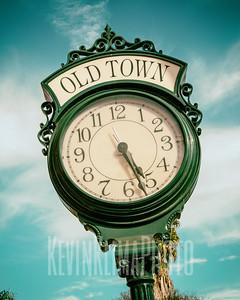 Santa Barbara Old Town Clock