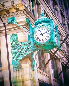 Macy's - Marshall Fields Clock