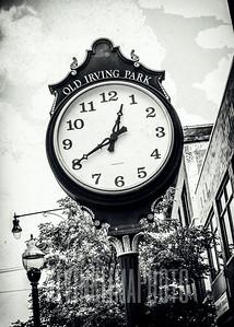 Old Irving Park Clock
