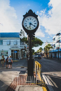Key West Clock