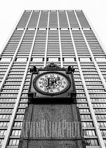 Chase Building Clock