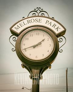 Melrose Park Clock