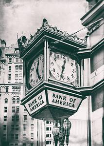 Bank of America Clock
