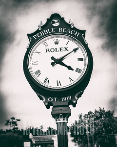 Pebble Beach - Rolex Clock