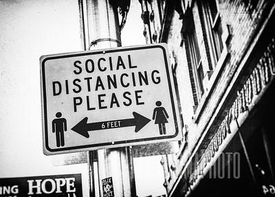 Social Distancing Please