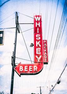 Whiskey, Beer, Package