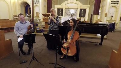 "S. Rachmaninov      Piano Trio in g minor, No.1 ""Elegiaque"" (Op. posth.)                                                               Tom Stone, violin, Amy Leung, cello, and Donna Stoering, piano"