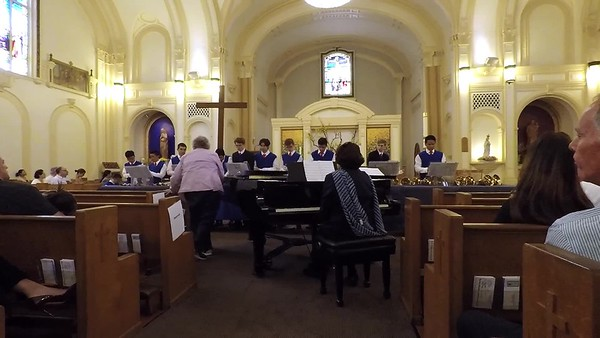 Segment 4 Notes for Nourishment  Golden Gate Boys Choir and Bell Ringers