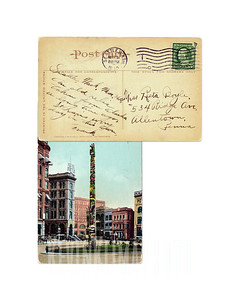 Seattle Totem Pole - 1910