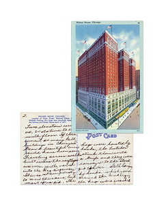 Palmer House, Chicago - 1947