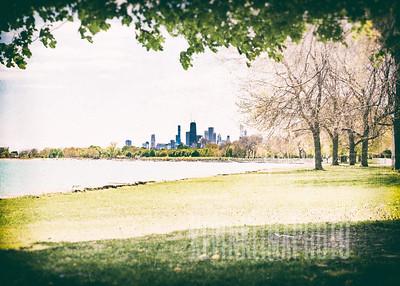 Lakefront Skyline