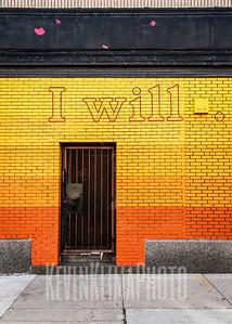 I will... We will...