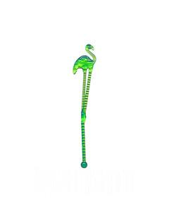 Green Flamingo Swizzle