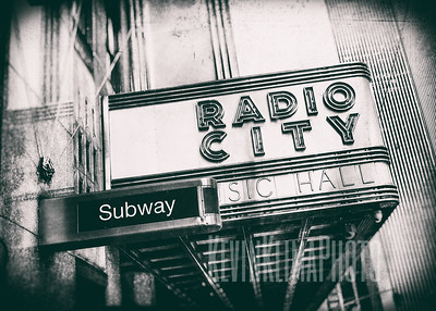 Radio City Music Hall - Subway