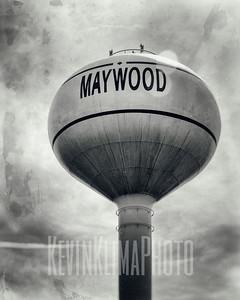 Maywood Water Tower