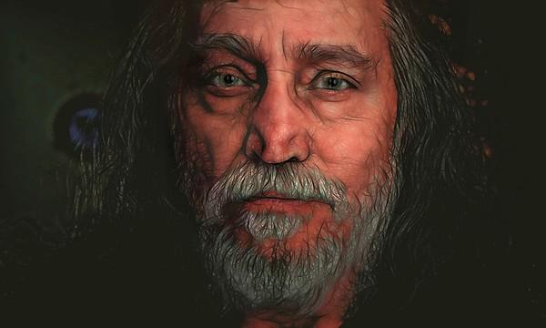 Stephen Bruno, self-portrait