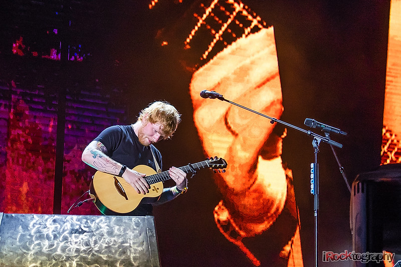 Ed Sheeran, live in Manila