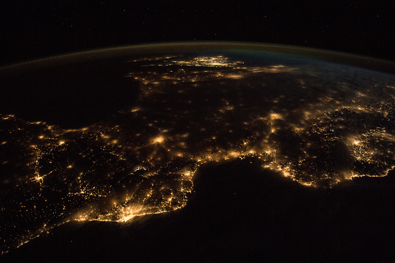Barcelona (left) and Marseille (right)