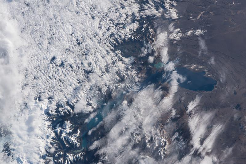 Lago Buenos Aires and Lago Gral Carrera, Patagonia, South America