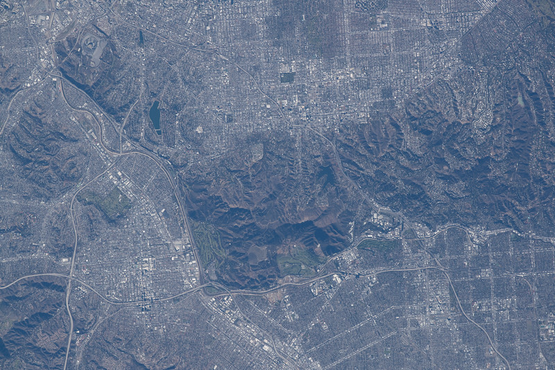 Los Angeles (centered on Griffith Park), California, US