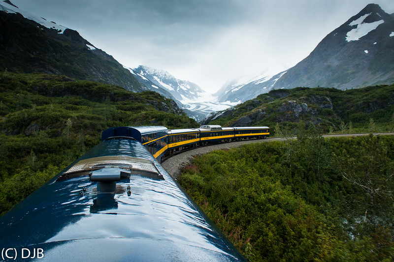 Alaska Railroad Coastal Classic, Seward to Anchorage, September 3, 2017.