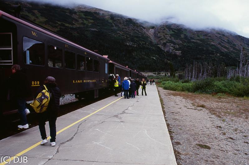 White Pass & Yukon Route Railroad, Fraser, BC.