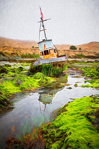 Cayucos Shipwreck Impression 20200721_177