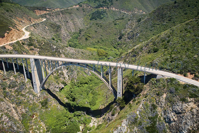 Bixby Bridge Aerial 20200526
