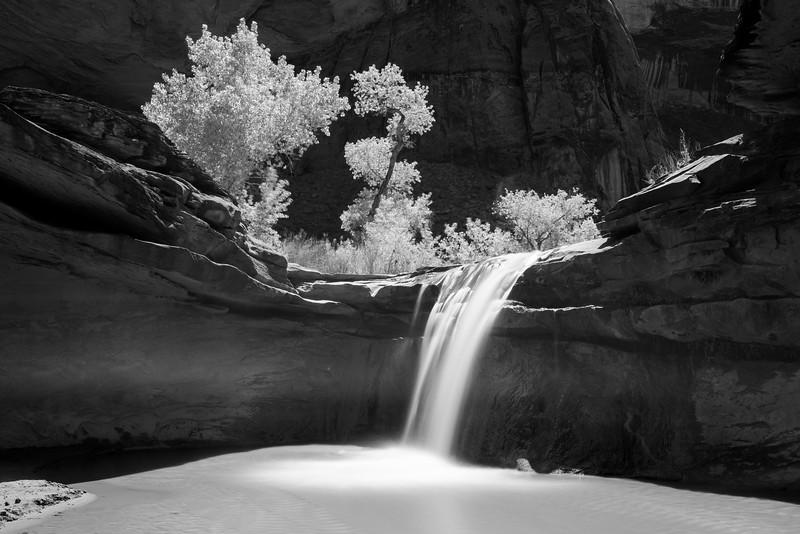 Falls in Coyote Gulch, Utah