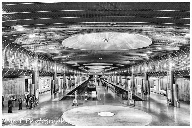Train station Britomart