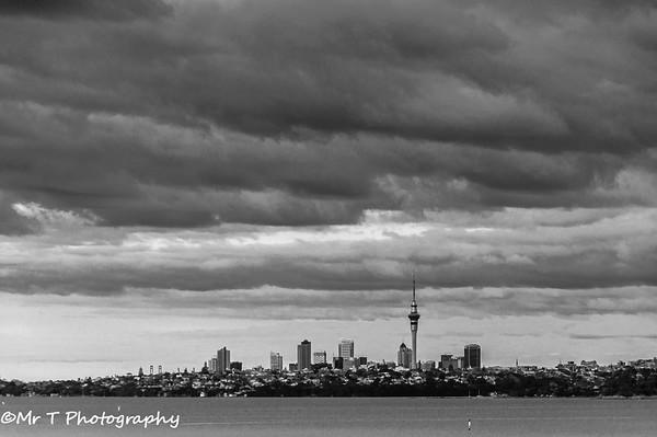 Auckland CBD skyline